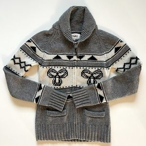 TNA Aritzia Sea to Sky Lambswool Sweater